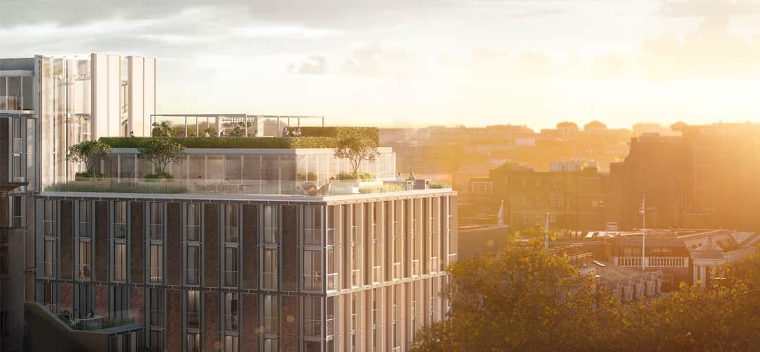 mandarin oriental residences-future-mayfair-london-aerial-view