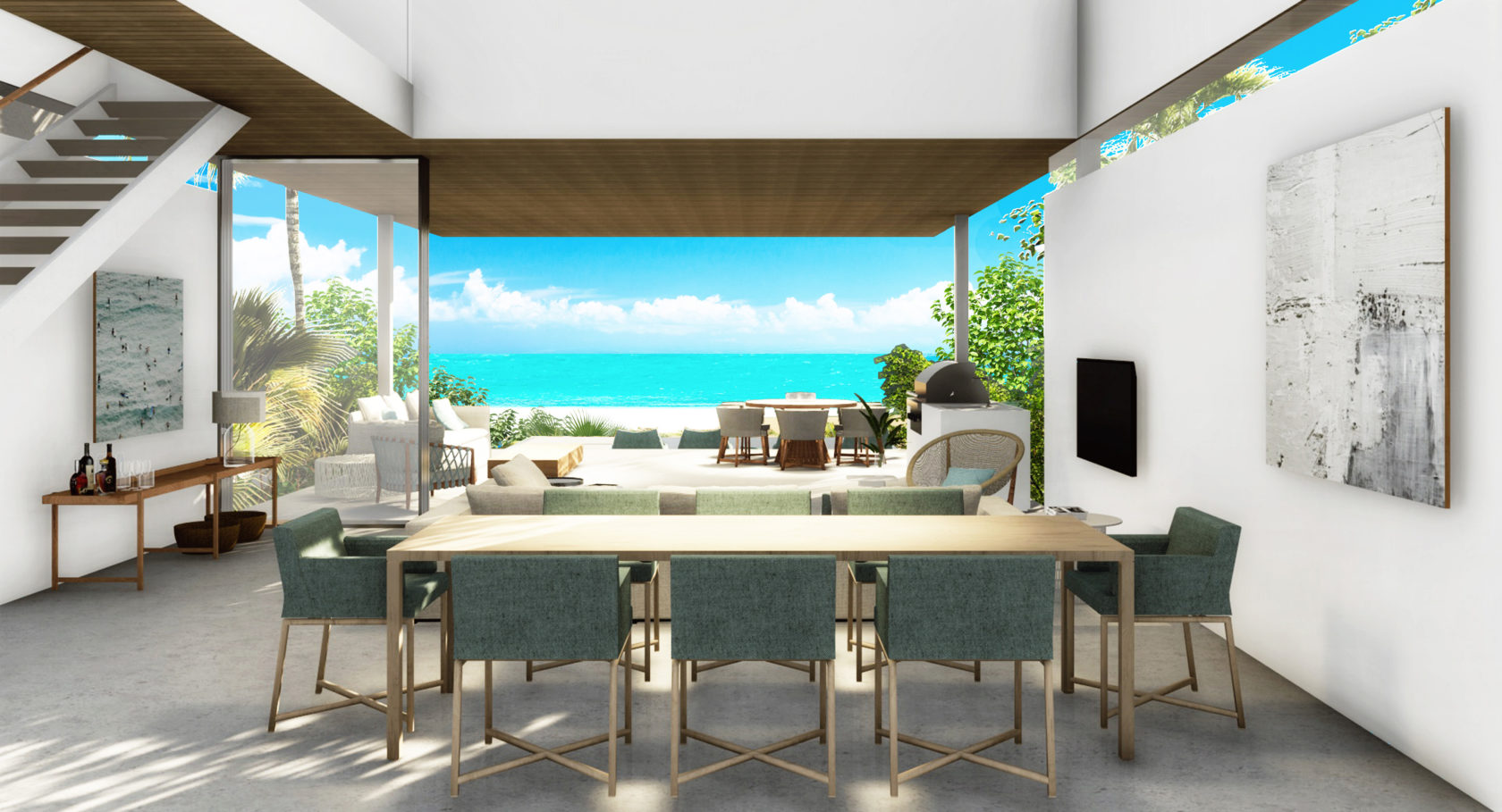 The Club at Beach Enclave Turks & Caicos