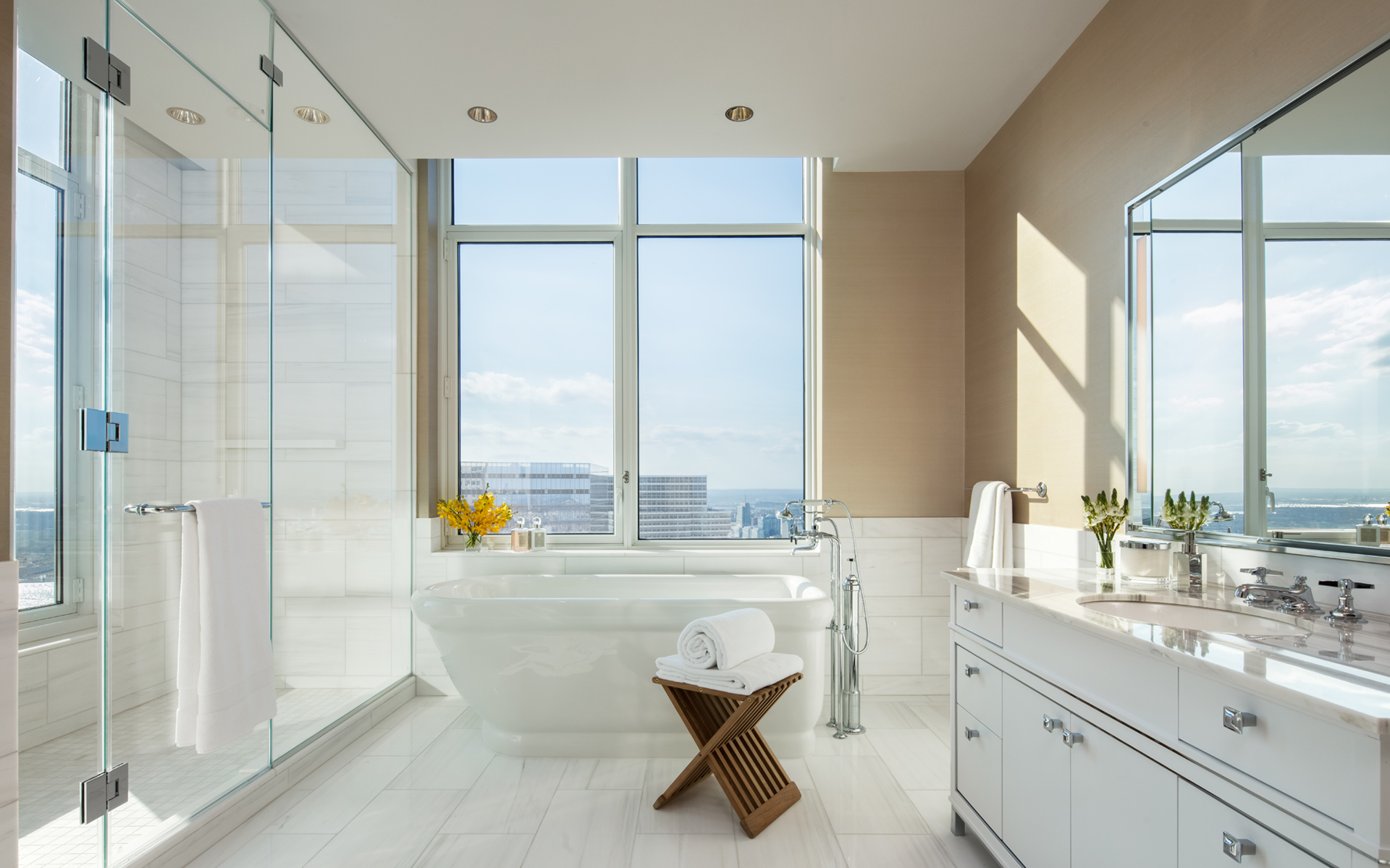 Four Season Private Residences New York-30-park-place-bathrooms