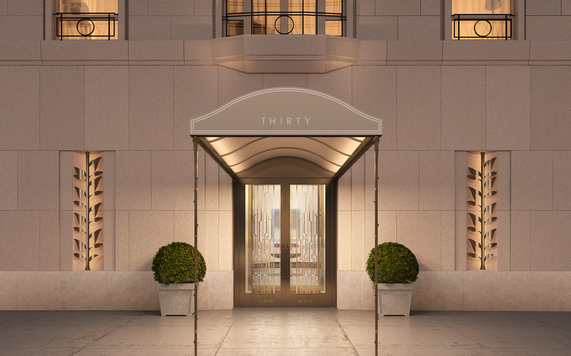 Four Season Private Residences New York30-park-place-entry-1-1