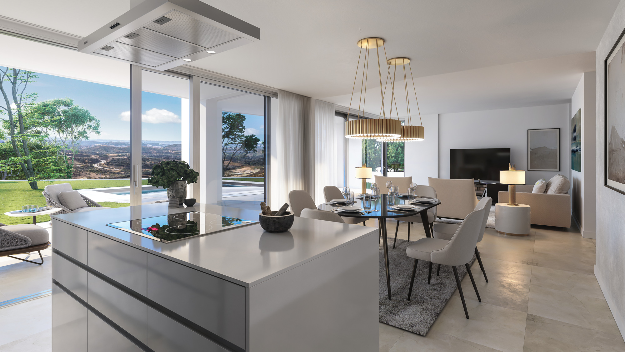 Soul Marbella_Townhouses_Interior_Living