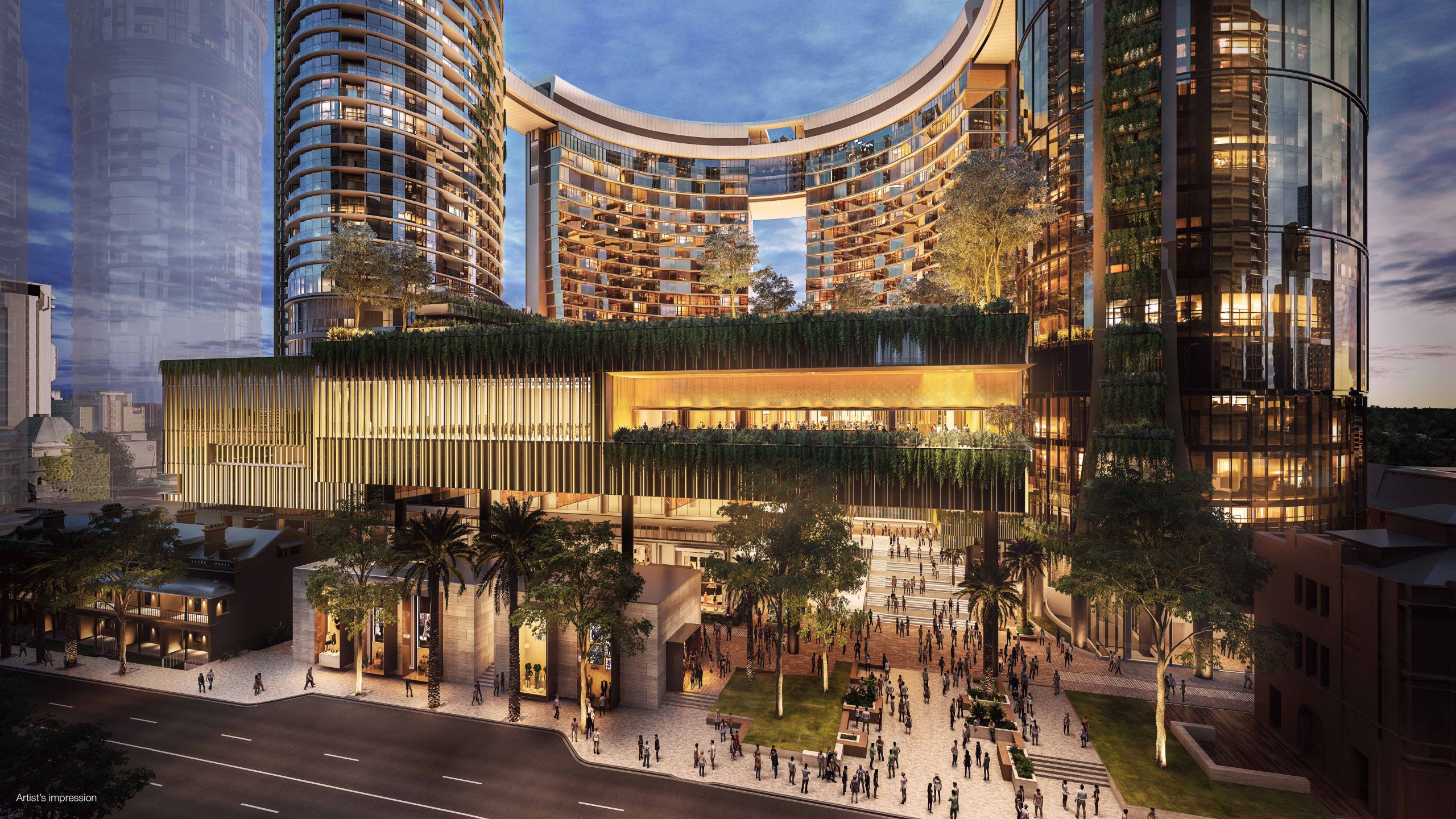Queen's Wharf Residences Brisbane