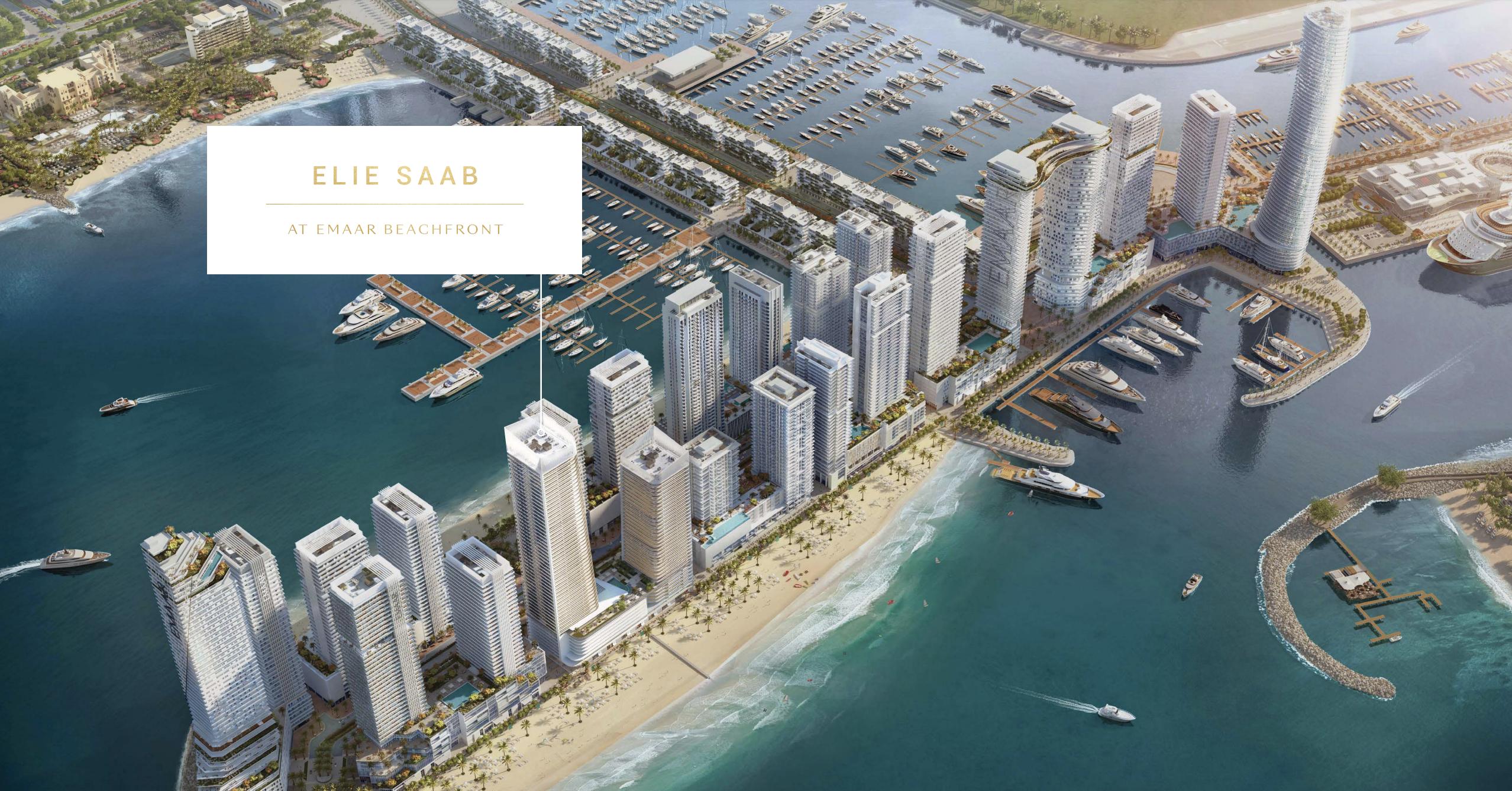 Elis Saab at Emaar Beachfront Dubai