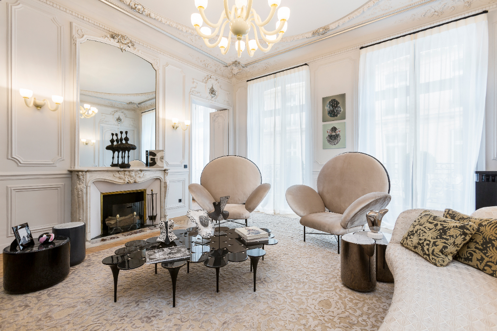 Historic Apartment For Sale in Golden Triangle, Paris
